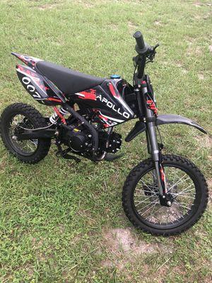 125cc (APOLLO Dirt Bikes w/Clutch) for Sale in St. Petersburg, FL