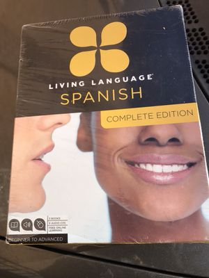 Living language Spanish complete Edition for Sale in Manassas, VA