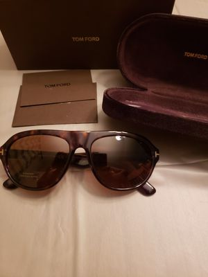 Tom Ford Ivan TF 397 52J Sunglasses Havana Authentic FT397 for Sale in Joliet, IL