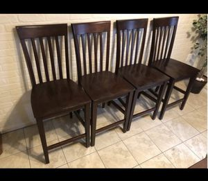 Bar height chairs (2) for Sale in Springfield, VA