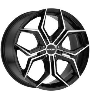 "Car rims Honda, Acura, Lexus, Mercedes, Toyota set of 4 full set - NEW 18"" Inch MKW M121 18x8 5x110/5x115 +40mm Black/Machined Wheels Rims for Sale in Tustin, CA"