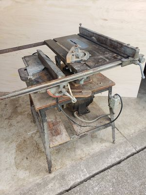 1950s Homecraft 8in tablesaw and jointer combo for Sale in Obetz, OH