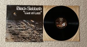 "Black Sabbath ""Live At Last"" vinyl lp 1980 NEMS Records Ireland 🇮🇪 Pressing beautiful vinyl Metal for Sale in Laguna Niguel, CA"