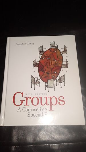 Groups A Counseling Specialty Textbook for Sale in KINGSVL NAVAL, TX