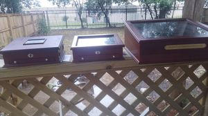 Jewelry or coin boxes for Sale in Ocean Springs, MS