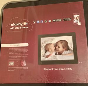 """New, unopened Nixplay 12"""" WiFi cloud frame for Sale in Falls Church, VA"""