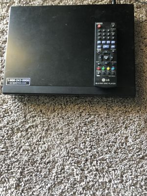LG blue ray DVD player for Sale in Austin, TX