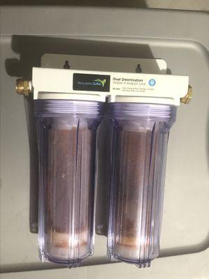 Aquatic Life Dual Deionization Water Filtration Unit for Sale in Albuquerque, NM
