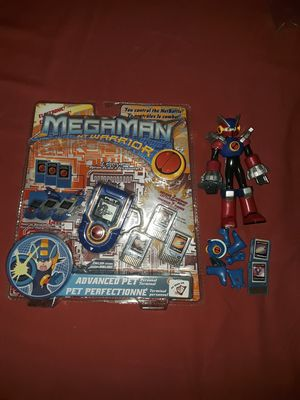 Megaman Nt warrior advanced pet and armor swap figure for Sale in The Bronx, NY