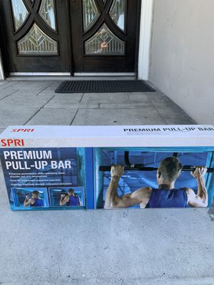 Brand new pull up bar lifting gym workout exercise equipment for Sale in El Monte, CA