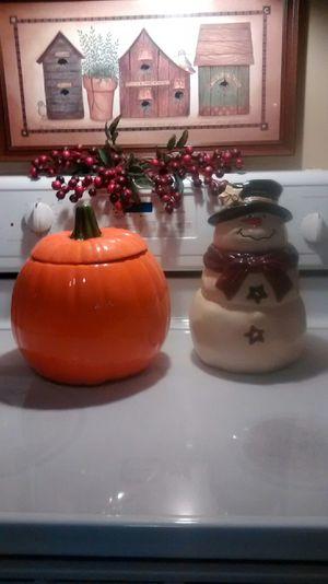 Ceramic cookie jars for Sale in Wichita, KS