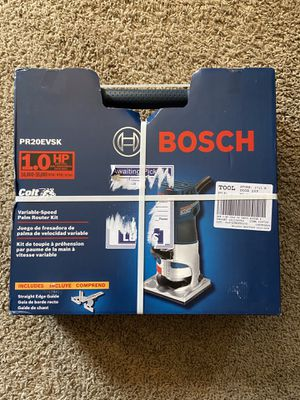 Bosch Variable Speed Palm Router Kit for Sale in Westmont, IL