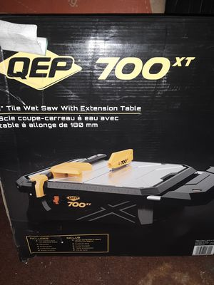 QEP 700 xt tile wet saw,tile cutter for Sale in San Jacinto, CA