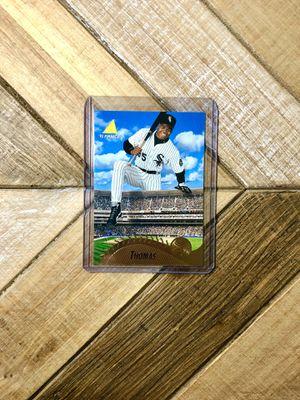 1995 Frank Thomas Pinnacle Stepping Over Stadium Baseball Card for Sale in Phoenix, AZ