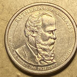 2014577-D Rutherford B. Hayes Presidential Dollar Die Rotation Strike DDO DDR Errors for Sale in Plainfield, IL