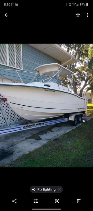 2006 sea boss 23.5 w/a for Sale in Pinellas Park, FL