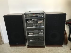 Fisher stereo system for Sale in Fresno, CA
