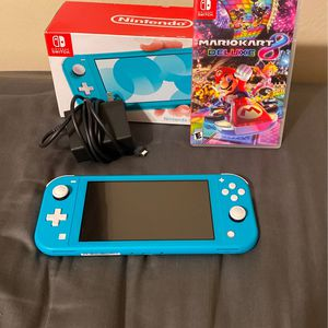 Nintendo Switch With Mario Kart 8 Deluxe for Sale in Fort Lauderdale, FL