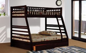 NEW Espresso Bunk Bed $349 for Sale in Houston, TX