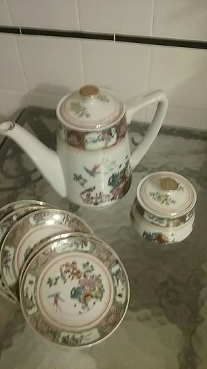 Vintage Chinese Tea Set for Sale in Philadelphia, PA