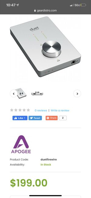 Audio Interface for Sale in Gresham, OR