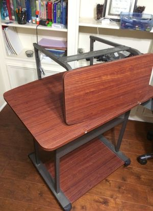 Office desk with Printer stand for Sale in Sugar Land, TX