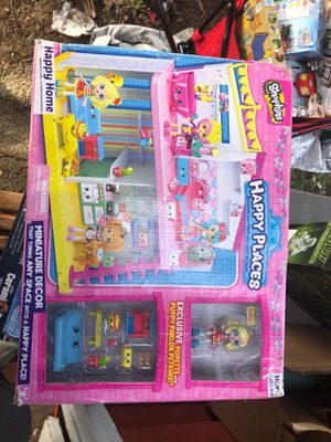 Shopkins happy places miniature decor for Sale in Everett, WA