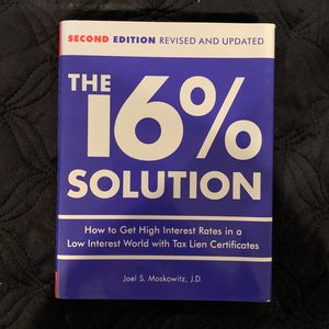 The 16% Solution By Joel S. Moskowitz for Sale in La Puente, CA