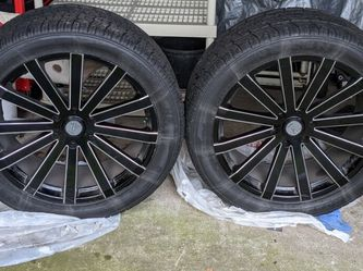 Velocity 22 Inch Wheels (set of Wheels With Tires for Sale in Shoreline,  WA