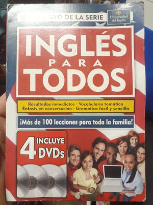 Ingles para todo 4 cds for Sale in Palmetto, FL