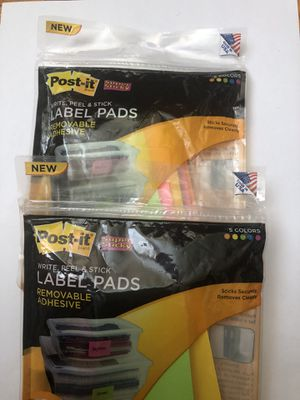 Multi Color Label Pads for Sale in MD, US