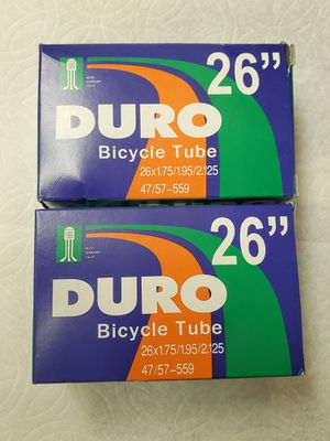 """2 BIKE TUBES 26"""" NEW AVAILABLE FROM 6 AM IN NORWALK for Sale in Artesia, CA"""