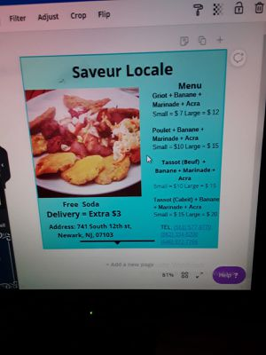 Saveur local for Sale in Newark, NJ