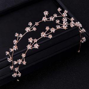 Baroque Crystal Wedding Headdress Princess Rhinestone Headband Gold for Sale in San Francisco, CA
