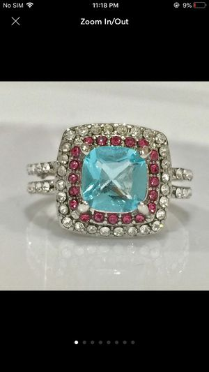 Gold plated gemstone ring for Sale in Silver Spring, MD