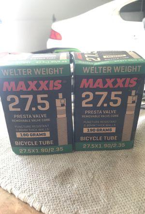 Maxxis bike tubes preseta 27.5 for Sale in La Verne, CA
