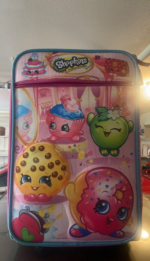 Shopkins Carry On Luggage for Sale in Montebello, CA