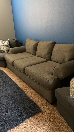 Grey Couch for Sale in Bakersfield, CA