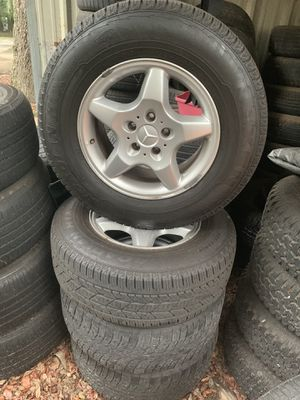 2001 Mercedes BENZ ML320 rims and tires for Sale in Tampa, FL