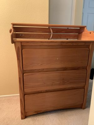 Changing Table converts to dresser for Sale in Tustin, CA