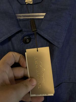 Burberry button down for Sale in St. Petersburg, FL