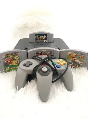 N64 w/ Expansion Pak + Classic Games for Sale in Bellmawr, NJ