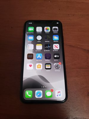 iPhone X 64GB • Factory unlocked (Works with any carrier) • Warranty • Hablo español for Sale in Chula Vista, CA