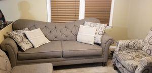 Beautiful gray sofa for Sale in Fairfax, VA