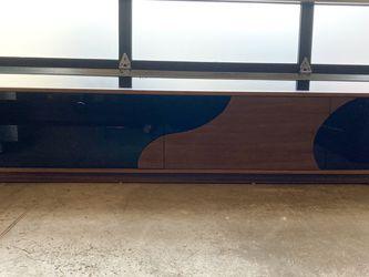 Stunning, Modern TV Stand W/ Walnut Wood Veneer! for Sale in Renton,  WA