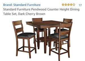 Standard Furniture Counter Height Dining Table Set for Sale in Clovis, CA