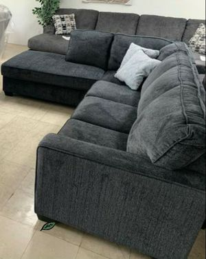 ❄❄ BRAND NEW ❄SPECIAL] Altari Slate LAF Sectional IN STOCK SAME DAY DELIVERY for Sale in Jessup, MD