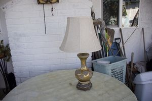 Beautiful lamp with shade (works & good cond) for Sale in Costa Mesa, CA
