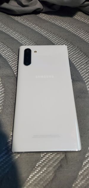 Samsung Galaxy Note 10 - White for Sale in Los Angeles, CA