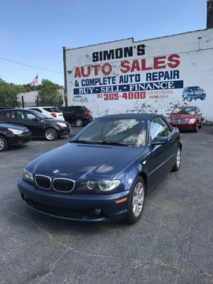 2006 BMW 3-Series 325CI CONVERTIBLE! for Sale in Detroit, MI